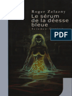Le Serum de La Deesse Bleue - Zelazny, Roger