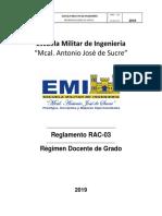 RAC-03 2019