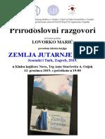 Prirodoslovni Razgovori Maric Prosinac 2019