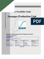 SMEDA Sausages Production Unit