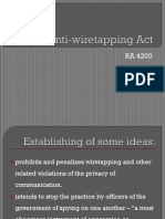 Anti-wiretapping Act (Media Law)