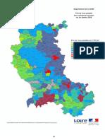 Le prix de l'eau potable dans la Loire