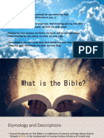 The Bible [Edited for Notes]
