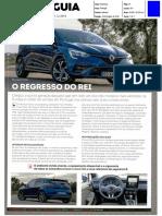"""NOVO RENAULT CLIO TCe 130 NA """"PC GUIA"""""""