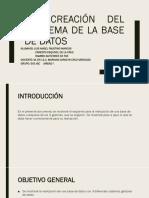 1.2 Creacion del esquema de base de datos