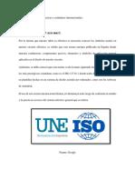 Normas Técnicas y Estándares Internacionales