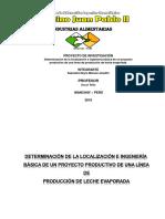Proyecto de Investigacion de Leche Evaporada [Autoguardado] Ewe