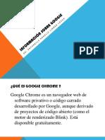 Información sobre google