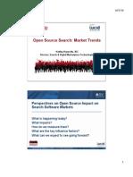 Open Source search - Market Trend