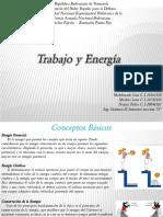 Trabajo y Energía, para física