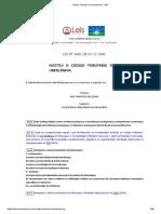 Código Tributário de Uberlândia - MG