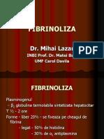Fibrinoliza
