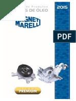 Magneti Marelli Catalogo Bombas de Óleo 2015