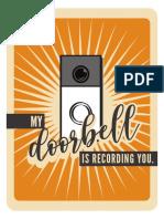 Doorbell Sign 5