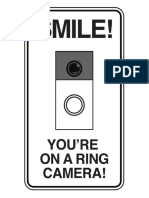 Doorbell Sign 6