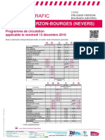 Info Trafic Axe x _ Orleans-Vierzon-bourges (Nevers) Du 13-12-2019