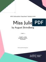 Miss Julie Guide