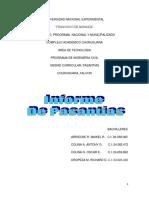 INFORME FINAL DE PASANTIAS