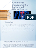 Chapter 45 Management in Urinary Disorders
