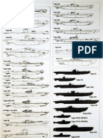 German U-Boat Types Chart