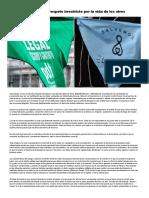 El Aborto y El Respeto Irrestricto Por La Vida de Los Otros - Infobae