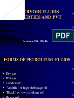 Reservoir Engineering 2 (Pvt & Fluid Properties)