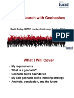 Spatial search with Geohashes