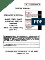 TM11-5855-213-10---AN-PVS4 - OPERATOR'S MANUAL - 1_february_1993