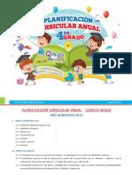1.- Planificación curricular anual 2019 - Editora Quipus Perú