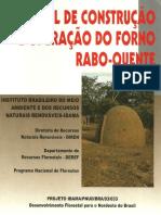 CONSTRUÇÃO DE FORNOS DE CARVÃO