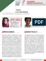 Afromexicano en la zona urbana de Acapulco. El barrio negro; entre la segregacion y la identidad.pdf