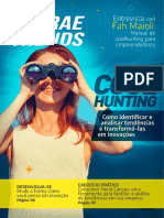 SEBRAE TRENDS - Coolhunting - Como identificar e analisar tendências e transformá-las em inovações