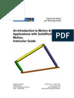 SolidWorks Motion Simulation Instructor Guide ENG