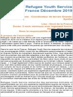 Dunkerque Outreach Coordinator