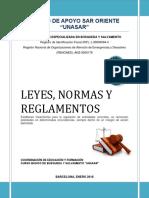 MANUAL LEYES, NORMAS Y REGLAMENTOS CBSAR-1