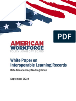 White Paper on Interoperable Learning Records 1568943568