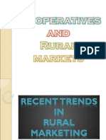 Co-operative and Rural Markets