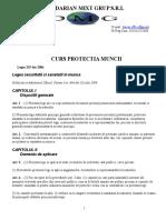 SUPORT de CURS Protectia Muncii