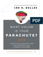 [2018] What Color Is Your Parachute? 2019 by Richard N. Bolles | A Practical Manual for Job-Hunters and Career-Changers | Ten Speed Press