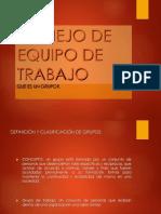 Etapas y propiedades de los grupos (3)