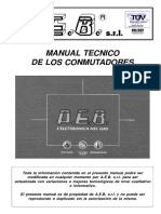 Manual Tecnico de Los Conmutadores Aeb 3era