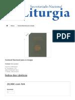 Cantoral Nacional para a Liturgia - Secretariado Nacional de Liturgia.PDF