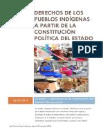 Derechos de los pueblos indígenas a partir de la Constitución Política del Estado Plurinacional de Bolivia