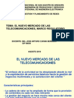 El Mercado de Las Telecomunicaciones_marco Regulatorio