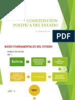 constitucion política del estado