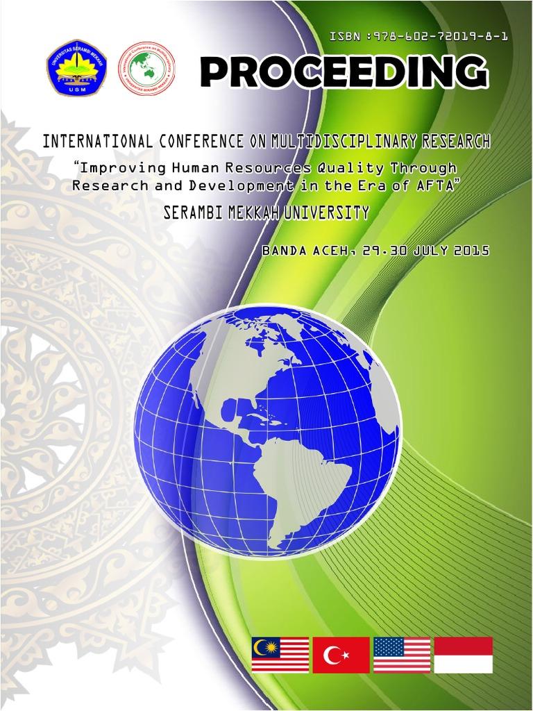 Proceeding International Conference July 20 in Usm PDF   PDF ...