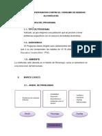 PROGRAMA DE INTERVENCION CONTRA EL CONSUMO DE BEBIDAS ALCOHÓLICAS