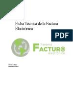 Ficha Técnica Factura Electrónica.pdf