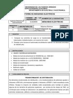 INFORME 4 - Transformador de Distribución