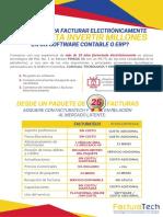 Flyer Facturatech Franci